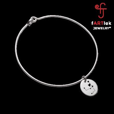 Fartlek-Jewelry-007-Donna-Marathon-26.2-Charm-Bangle