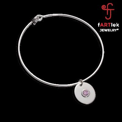 Fartlek-Jewelry-008-Pink-Ice-Charm-Bangle