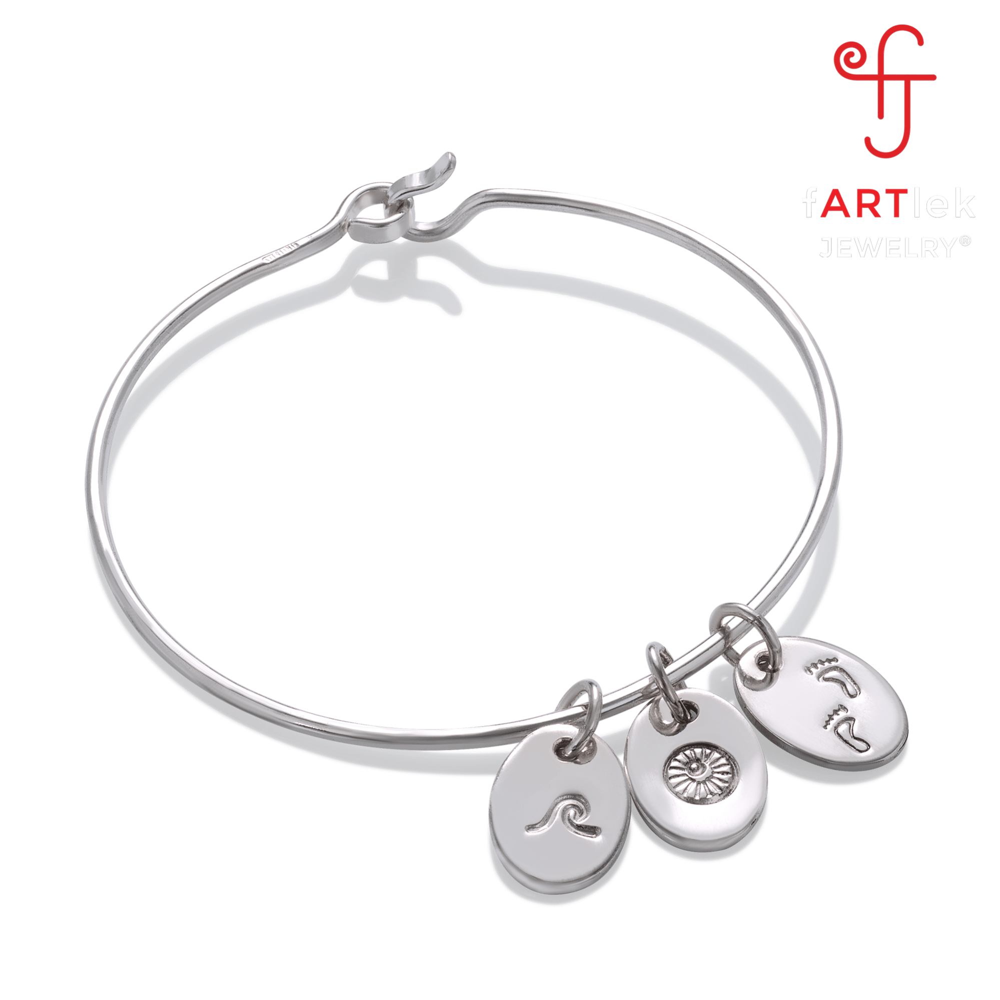 holiday bracelets bracelet rounded amoro italian jewellery small gifts silver bangle collection sterling